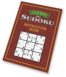 Sudoku Instruction Book